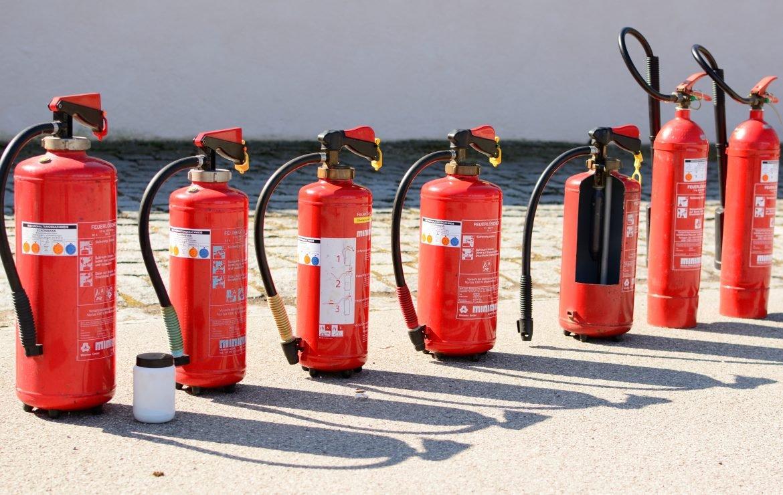 Gesintuvų ir gaisrinio inventoriaus parinkimo reikalavimai